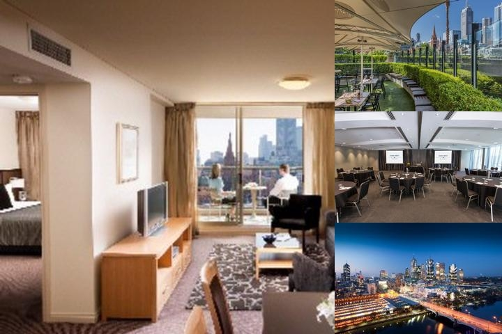 Quay West Suites Melbourne photo collage