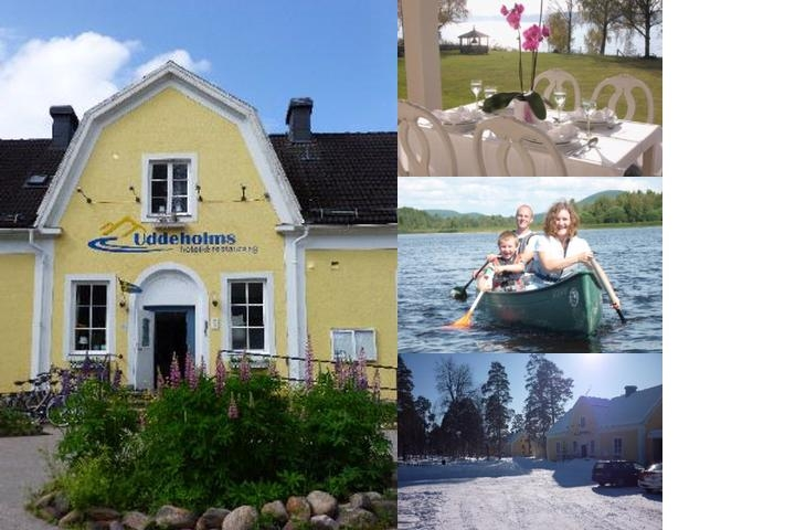 Uddeholms Hotell photo collage