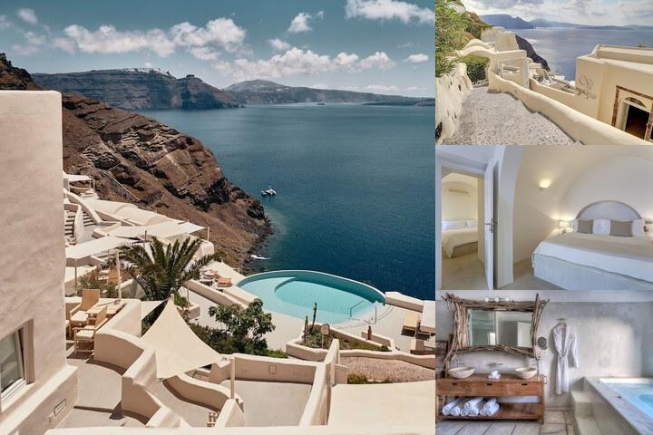 Mystique Santorini photo collage