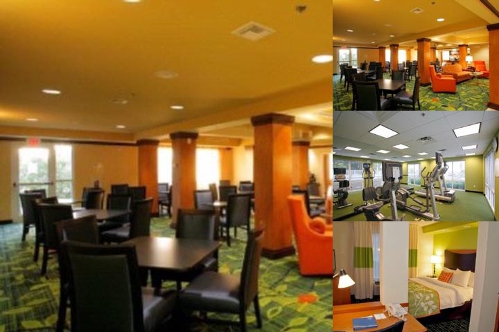 Fairfield Inn & Suites Charleston photo collage