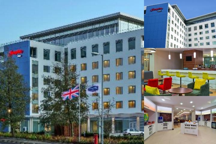 Hampton by Hilton London Luton Airport photo collage