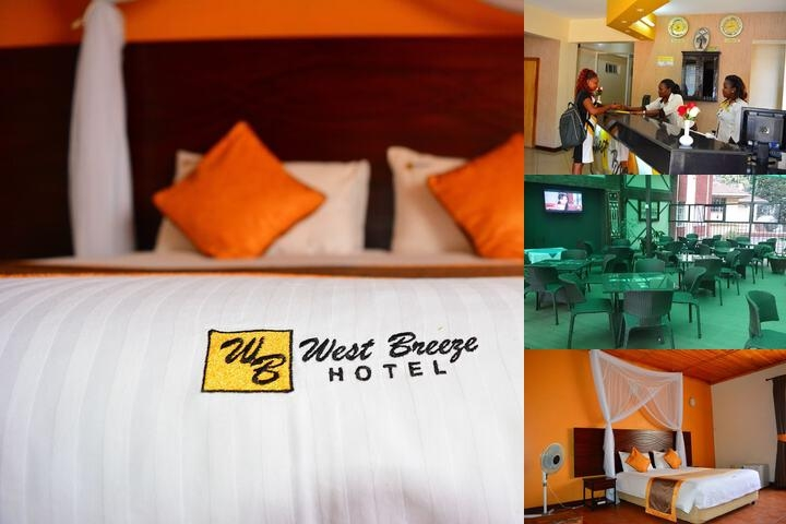 West Breeze Hotel photo collage