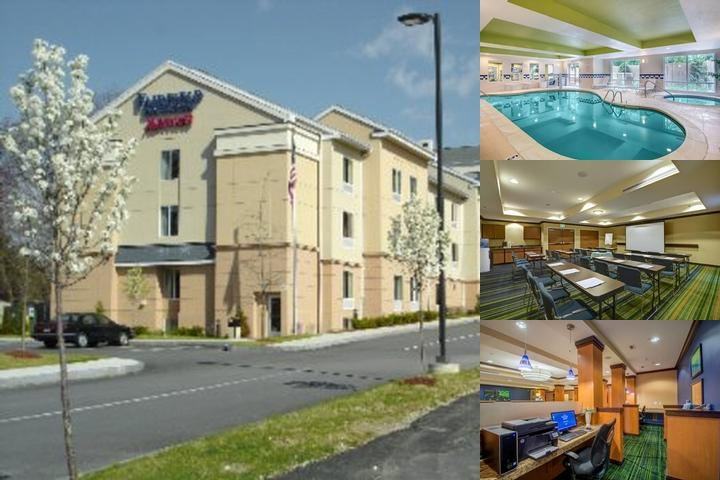 Fairfield Inn & Suites Worcester Auburn photo collage