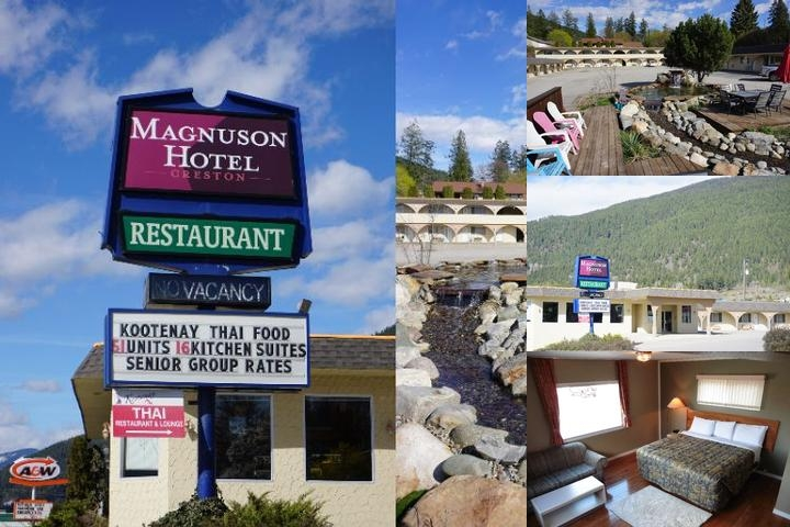 Magnuson Hotel Creston photo collage
