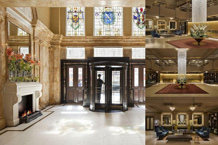 Hotel Cafe Royal photo collage