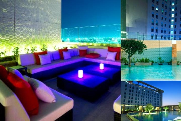 Aloft Abu Dhabi photo collage