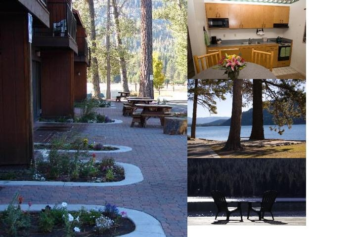 Donner Lake Village photo collage