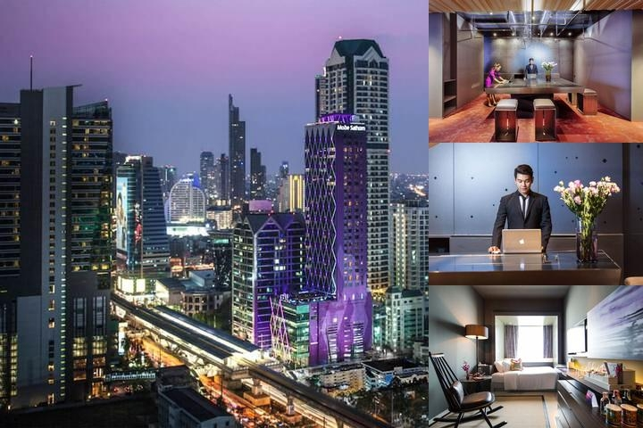 Mode Sathorn Hotel photo collage