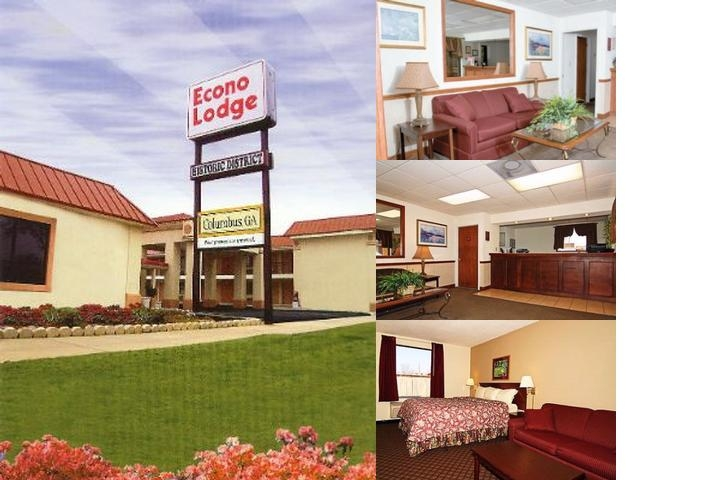 Econo Lodge & Suites Historic District photo collage