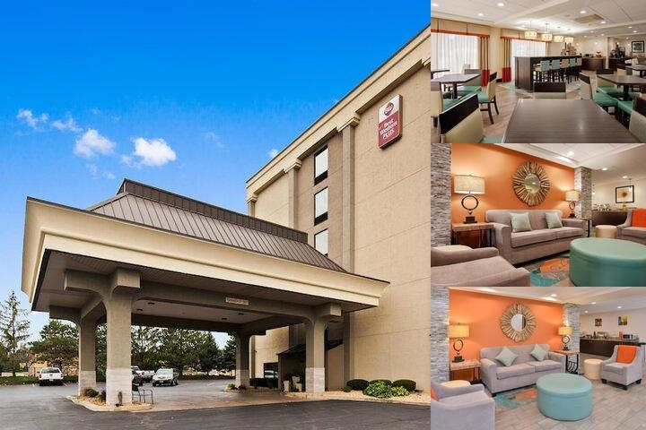 Best Western Chicagoland Countryside Comfortable Double Bed Room