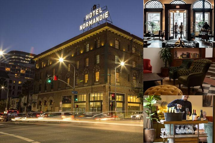 Hotel Normandie Los Angeles photo collage