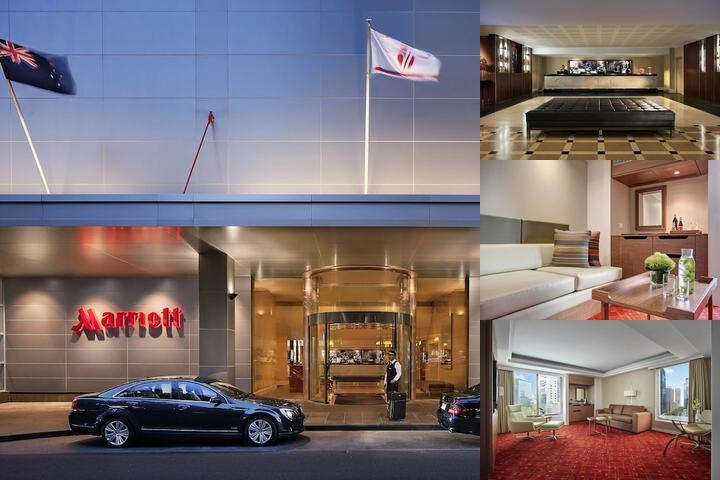 Marriott Melbourne photo collage