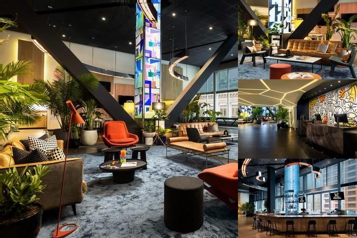 Novotel New York Times Square photo collage