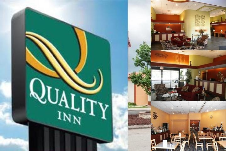 Quality Inn & Suites Kansas City I 435n Near Sport photo collage