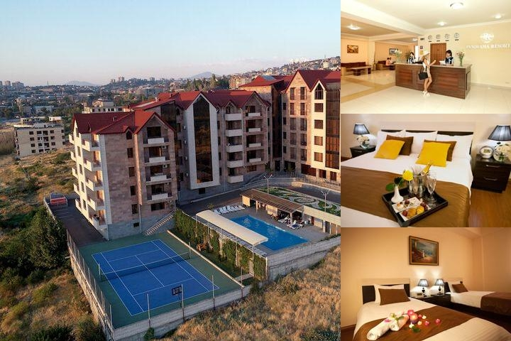 Panorama Yerevan Resort photo collage
