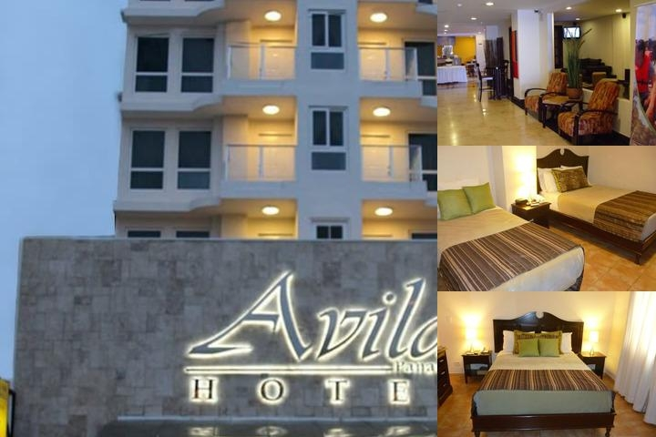 Avila Hotel Panama photo collage