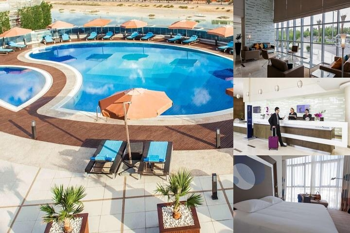 Novotel Abu Dhabi Gate photo collage