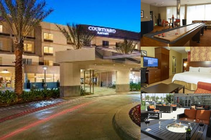 Courtyard Marriott Long Beach Airport photo collage
