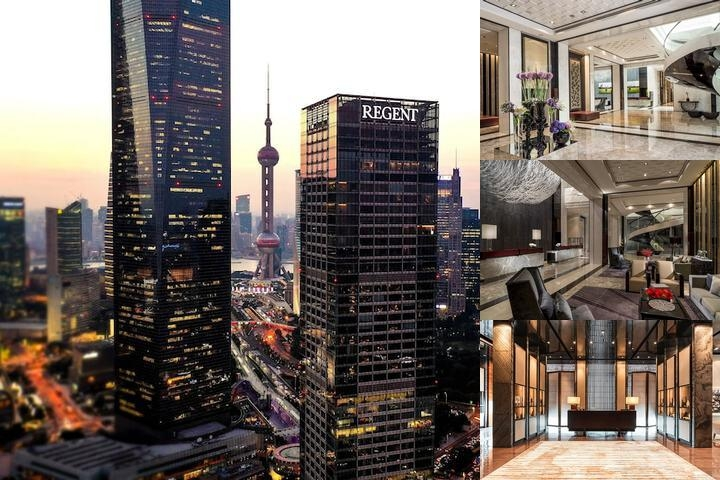 Four Seasons Hotel Pudong Shanghai photo collage