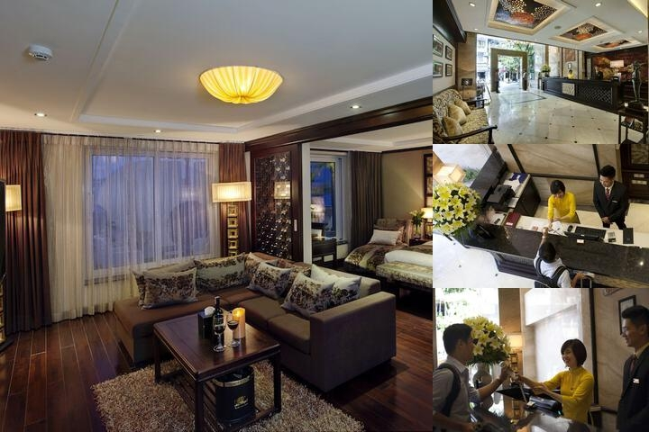 Golden Lotus Luxury Hotel photo collage