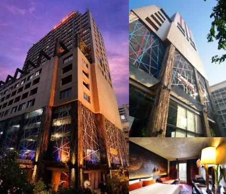 Siamatsiam Design Hotel Bangkok photo collage