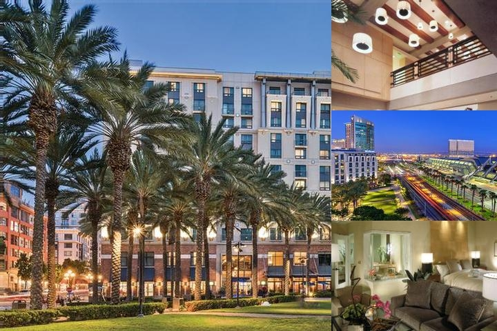 Hilton San Diego Gaslamp Quarter photo collage