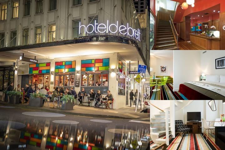 Hotel Debrett photo collage