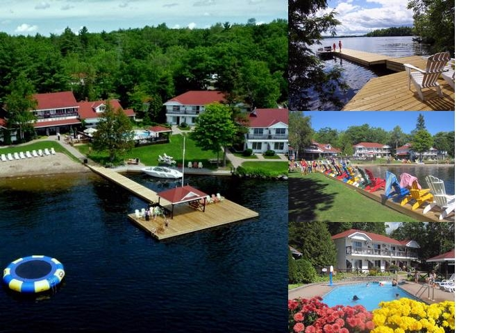 Severn Lodge photo collage