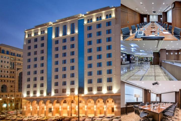 Crowne Plaza Madinah photo collage