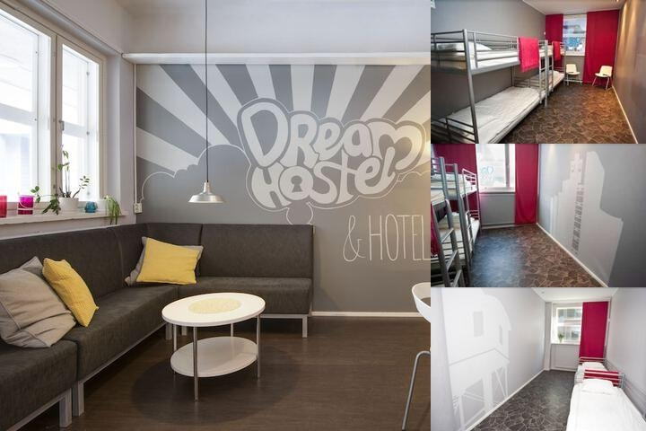 Tampere Dream Hostel & Hotel photo collage