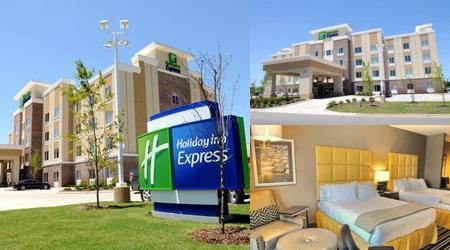Holiday Inn Express Covington Madisonville photo collage
