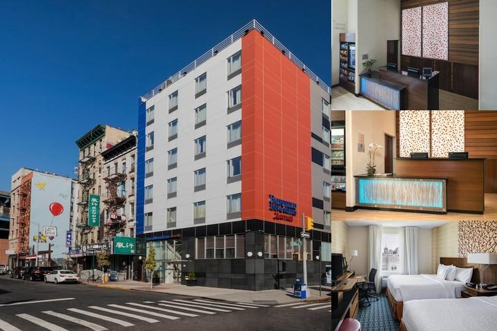 Fairfield Inn & Suites Manhattan Downtown East photo collage