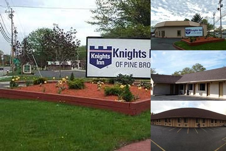 Knights Inn Pine Brook photo collage