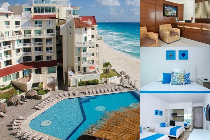 Bsea Cancún Plaza Hotel photo collage