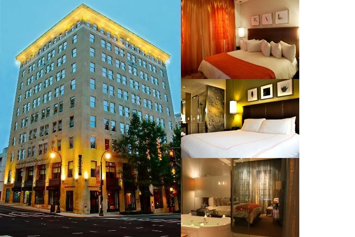 The Glenn Hotel photo collage