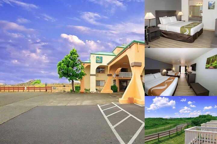 Quality Inn & Suites Redwood Coast photo collage