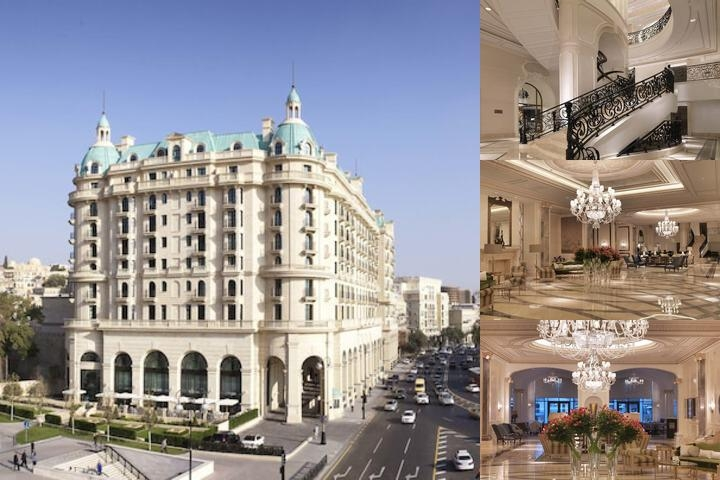 Four Seasons Hotel Baku photo collage
