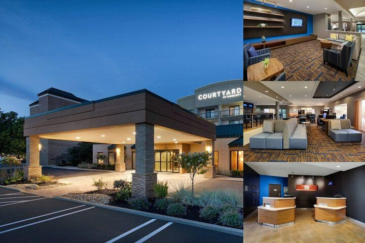 Courtyard by Marriott Cleveland Beachwood photo collage