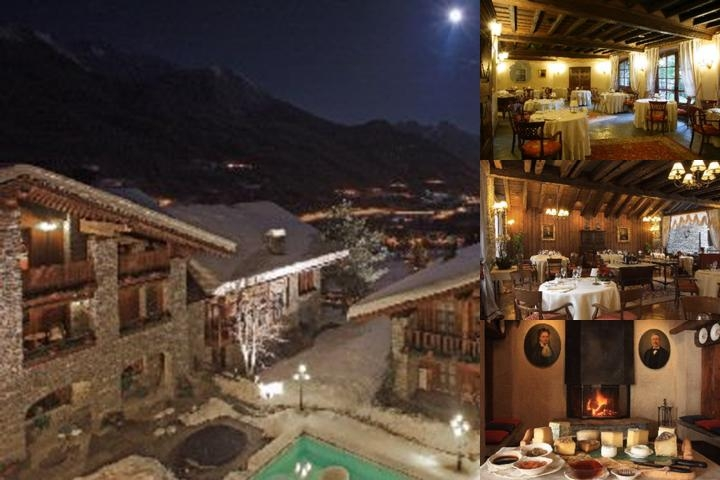 Mont Blanc Hotel Village photo collage