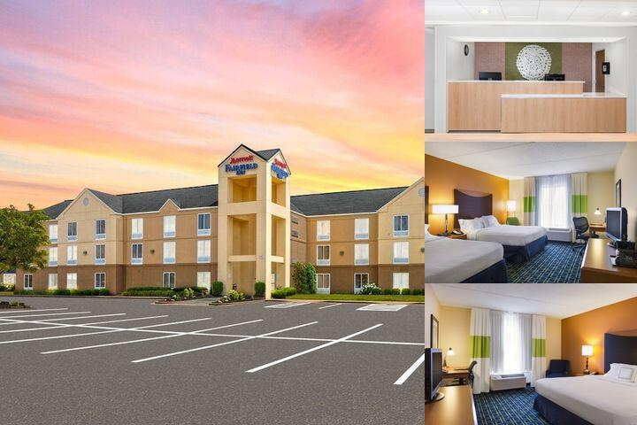 Fairfield Inn East photo collage