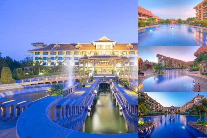 Angkor Hotel photo collage