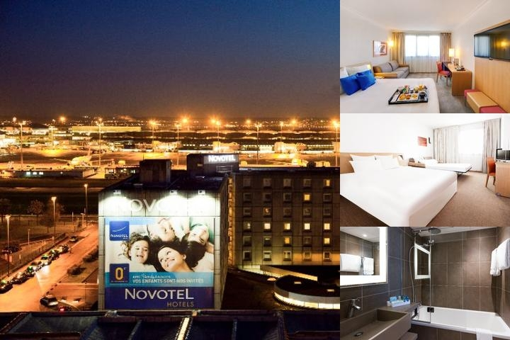 Novotel Paris Charles De Gaulle Terminal Hotel photo collage