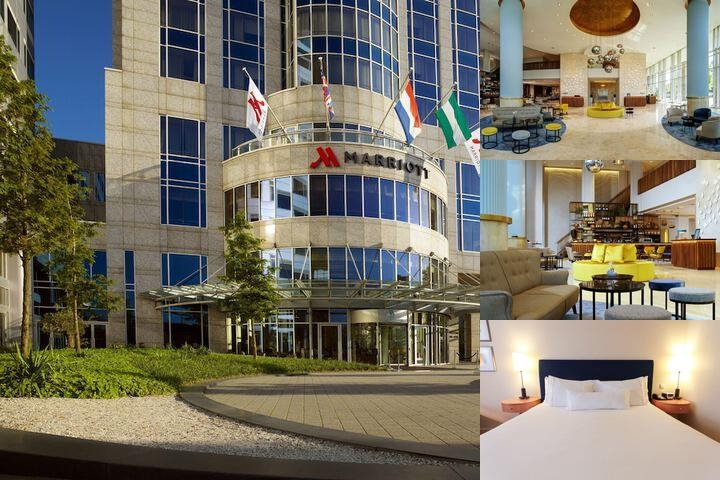 Rotterdam Marriott Hotel photo collage