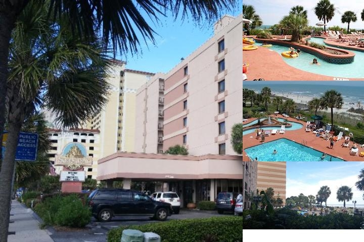 Sandcastle Oceanfront Resort at the Pavilion photo collage
