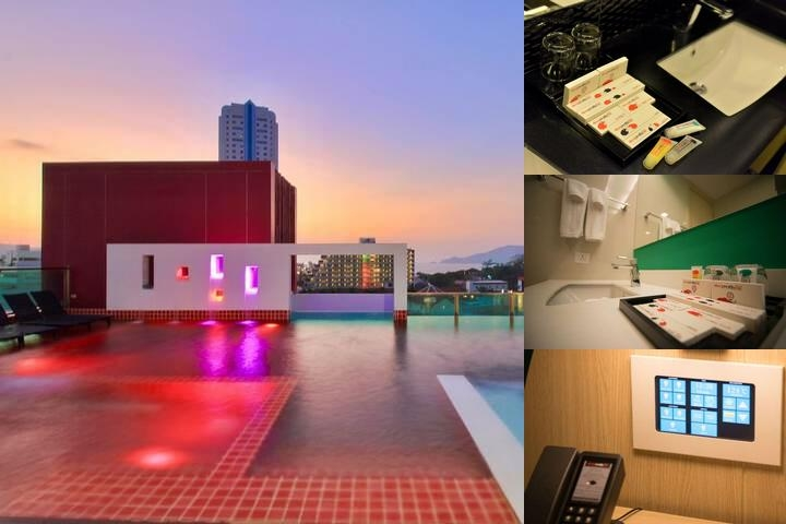 Sleep With Me Hotel Design Hotel at Patong photo collage