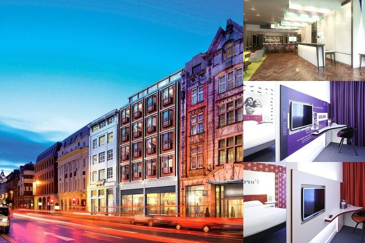 Ibis Styles Liverpool Centre Dale Street photo collage