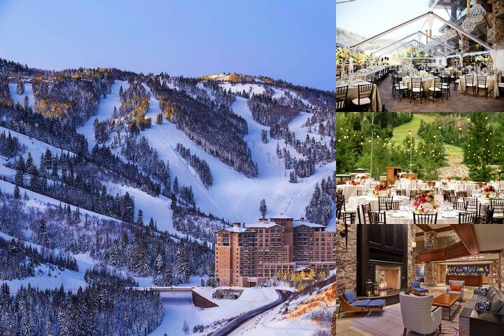 The St. Regis Deer Valley photo collage