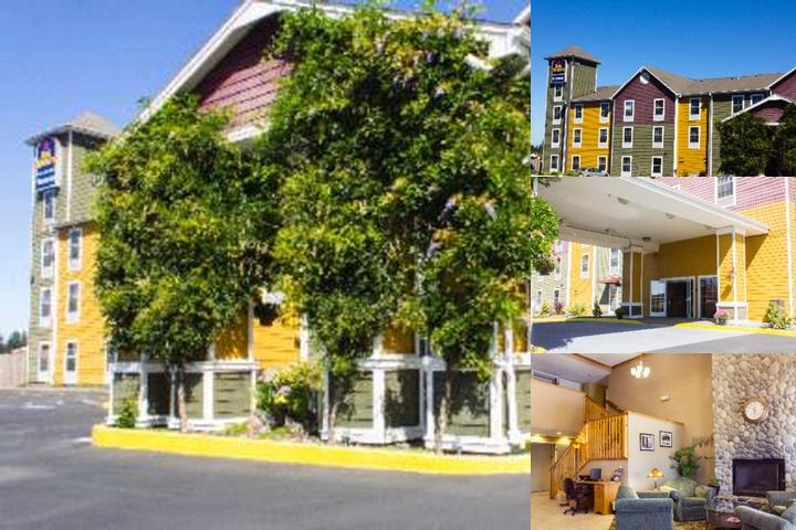 Best Western Woodburn Inn photo collage