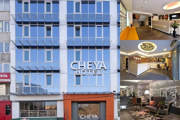 Cheya Besiktas Hotel photo collage