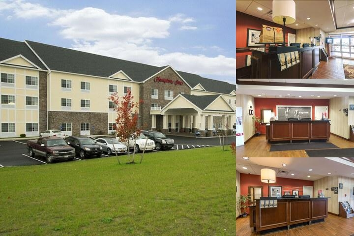 Hampton Inn Bangor photo collage